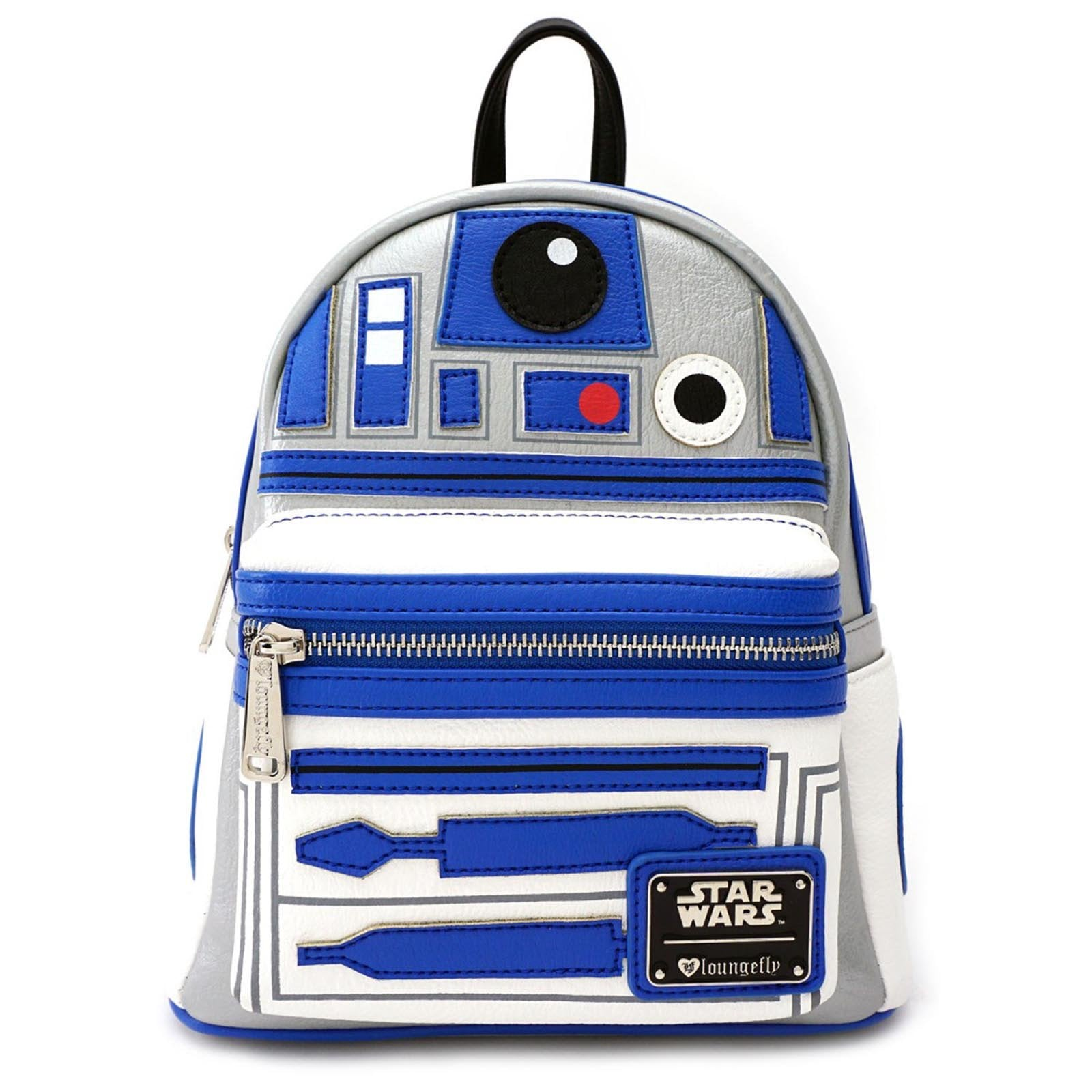 c123f595d30 Loungefly Star Wars R2-D2 Applique Mini Backpack