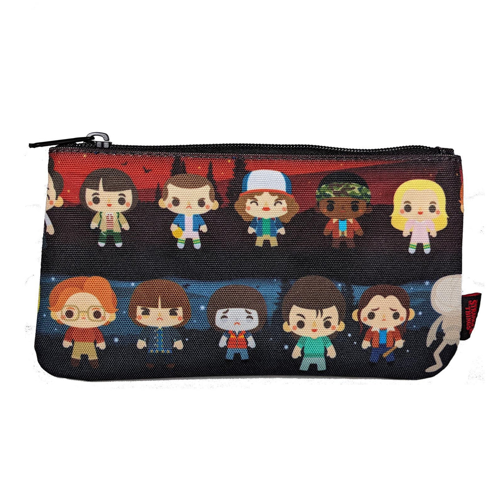 Loungefly Stranger Things Baby Characters Print Pencil Case