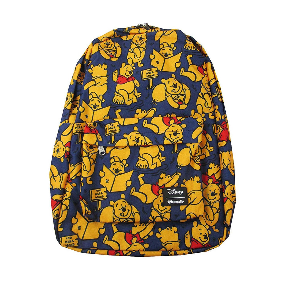 Loungefly Winnie The Pooh Nylon All Over Print Backpack