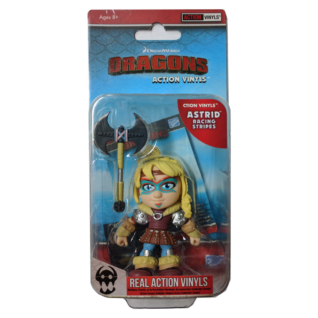 Action Figures - Loyal Subjects How To Train Your Dragon Astrid Stripes Real Action Vinyls