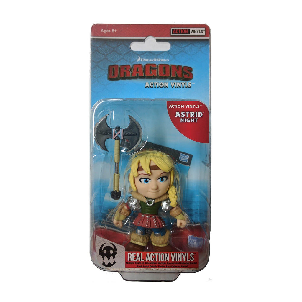 Loyal Subjects How To Train Your Dragon Astrid Night Action Vinyls
