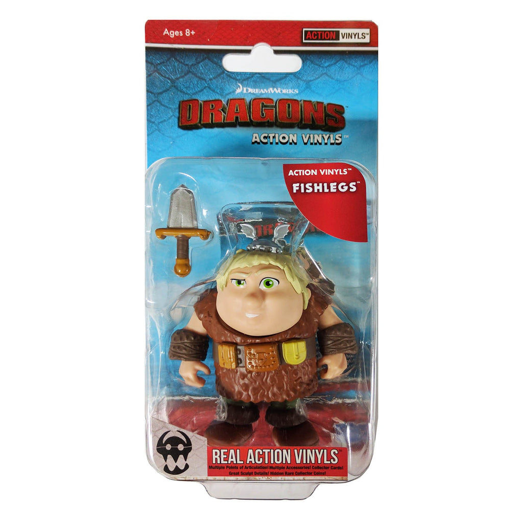 Action Figures - Loyal Subjects How To Train Your Dragon Fishlegs Real Action Vinyls