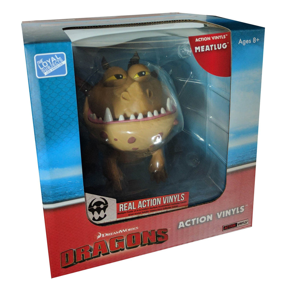 Loyal Subjects How To Train Your Dragon Meatlug Action Vinyls