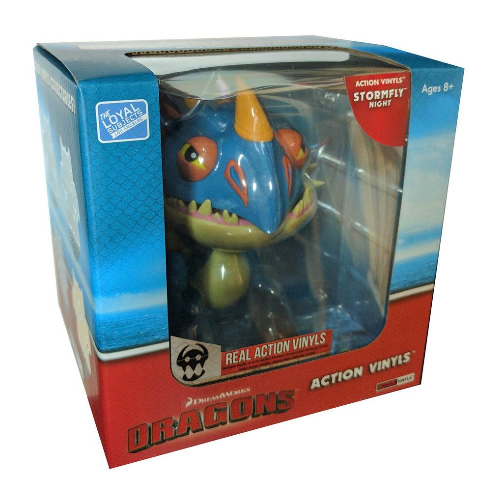 Action Figures - Loyal Subjects How To Train Your Dragon Stormfly Night Action Vinyls