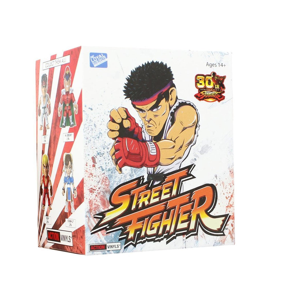Loyal Subjects Street Fighter Blind Box Mini Action Figure