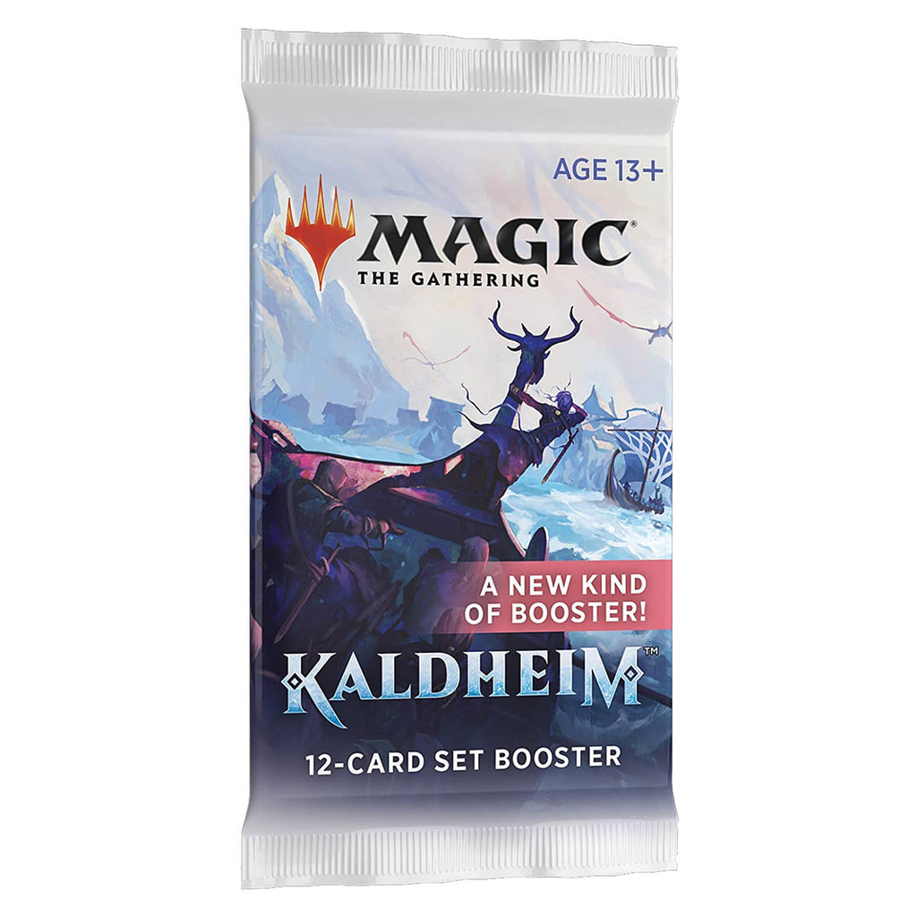 Magic The Gathering Kaldheim Set Booster Pack