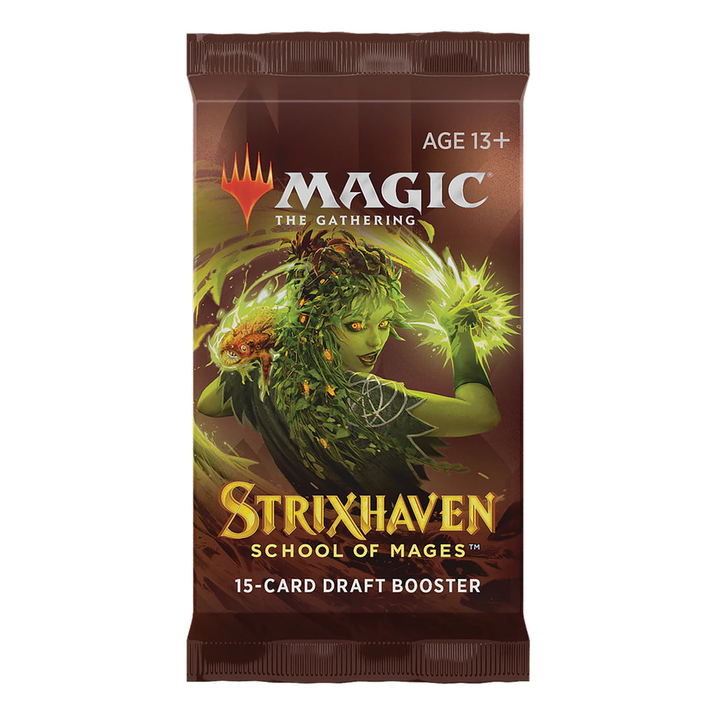 Magic The Gathering Strixhaven Draft Booster Pack