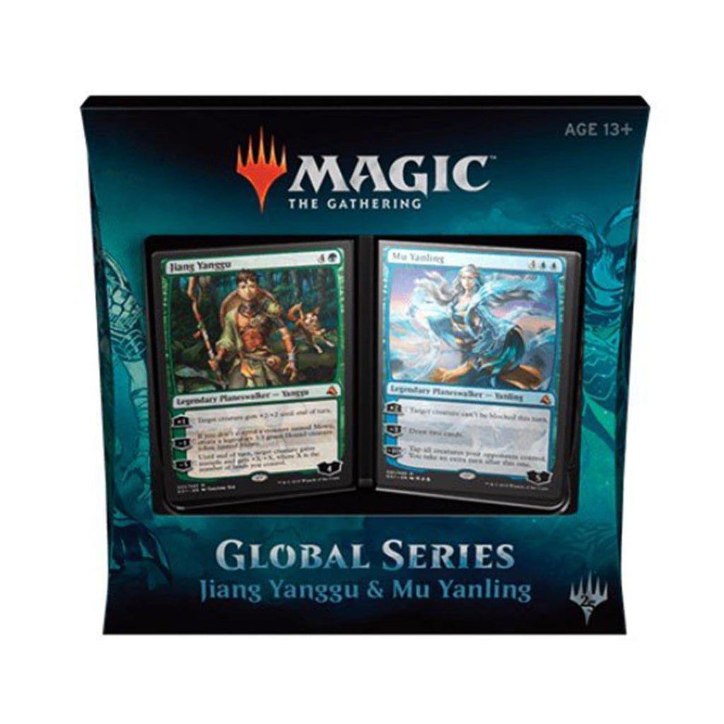 Magic The Gathering Global Series Jiang And Mu Double Deck