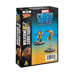 Marval Crisis Protocol Wolverine and Sabertooth Character Pack