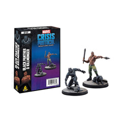 Marvel Crisis Protocol Black Panther and Killmonger Character Pack