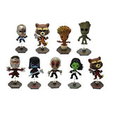 Blind Boxed Mystery Figures - Marvel Guardians Of The Galaxy Buildable Series 1 Bobble Head Mini Figure