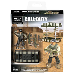 Mega Construx Call Of Duty Desert Mission Weapon Crate Building Set