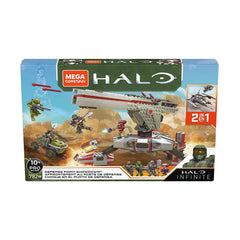 Mega Construx Halo Infinite Defense Point Showdown Building Set