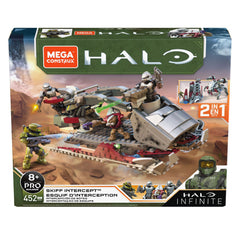 Mega Construx Halo Infinite Skiff Intercept Building Set