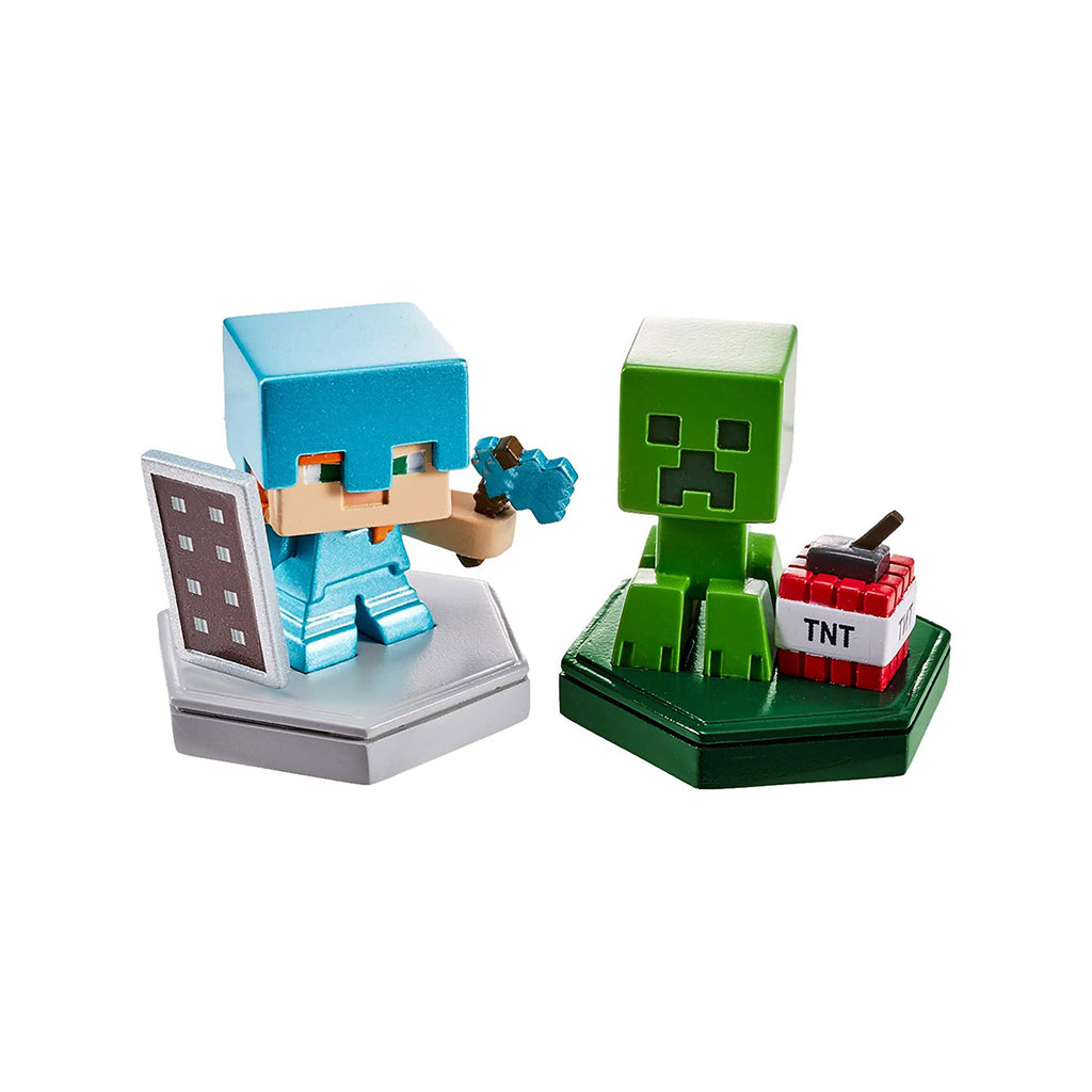 Mega Construx Minecraft Earth Boost Defending Alex Mining Creeper Set