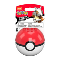 Mega Construx Pokemon Cubone Poke Ball Building Set