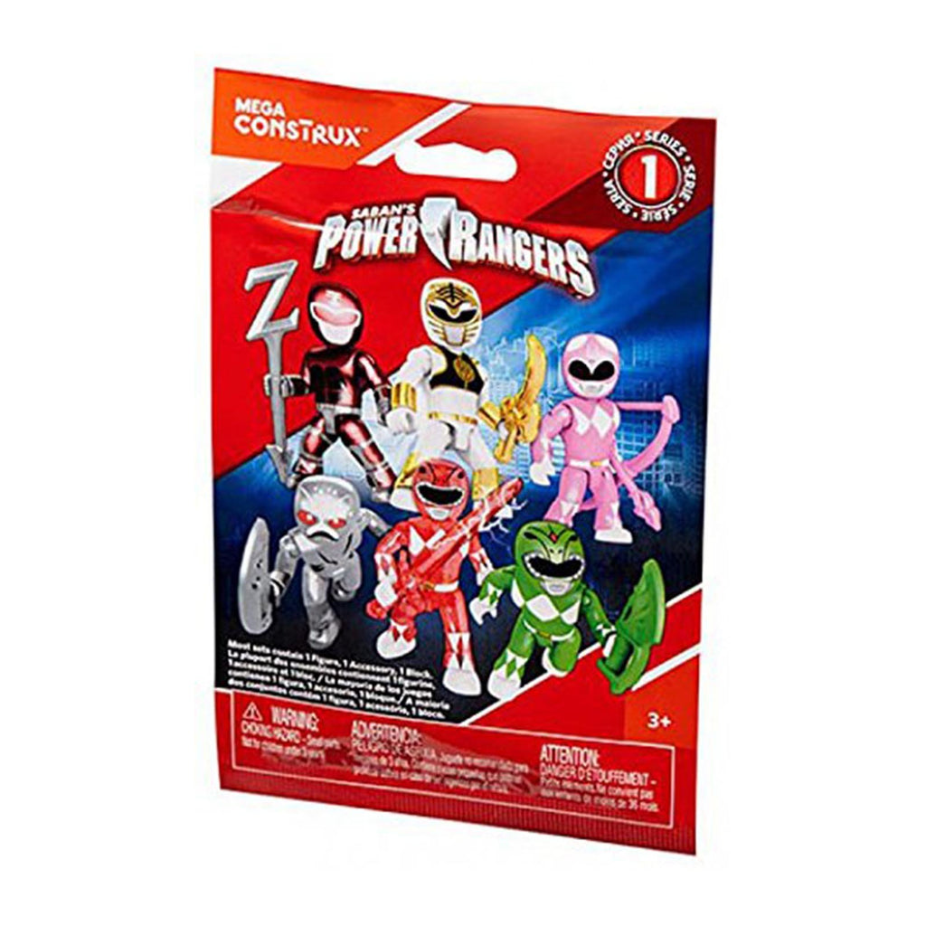 Mega Construx Power Rangers Series 1 Blind Bag Mini Figure