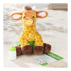 Melissa And Doug Feed Change & Comfort Baby Giraffe 9 Inch Plush Figure 30452