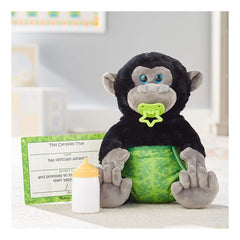 Melissa And Doug Feed Change & Comfort Baby Gorilla 9 Inch Plush Figure 30451