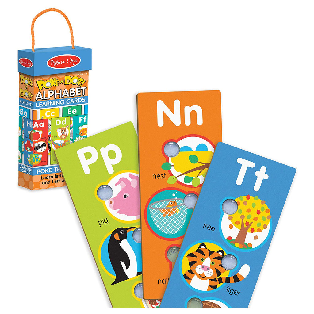Melissa And Doug Poke-A-Dot Jumbo Number Learning Cards