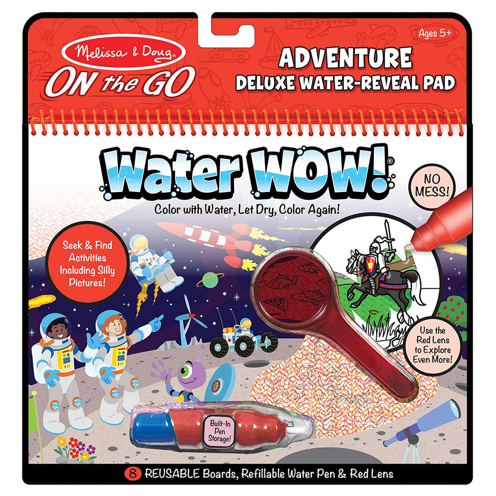 Melissa And Doug Water Wow Adventure Reusable Reveal Pad 30172