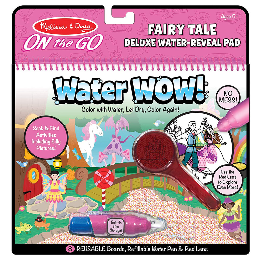 Melissa And Doug Water Wow Fairy Tale Reusable Reveal Pad 30173