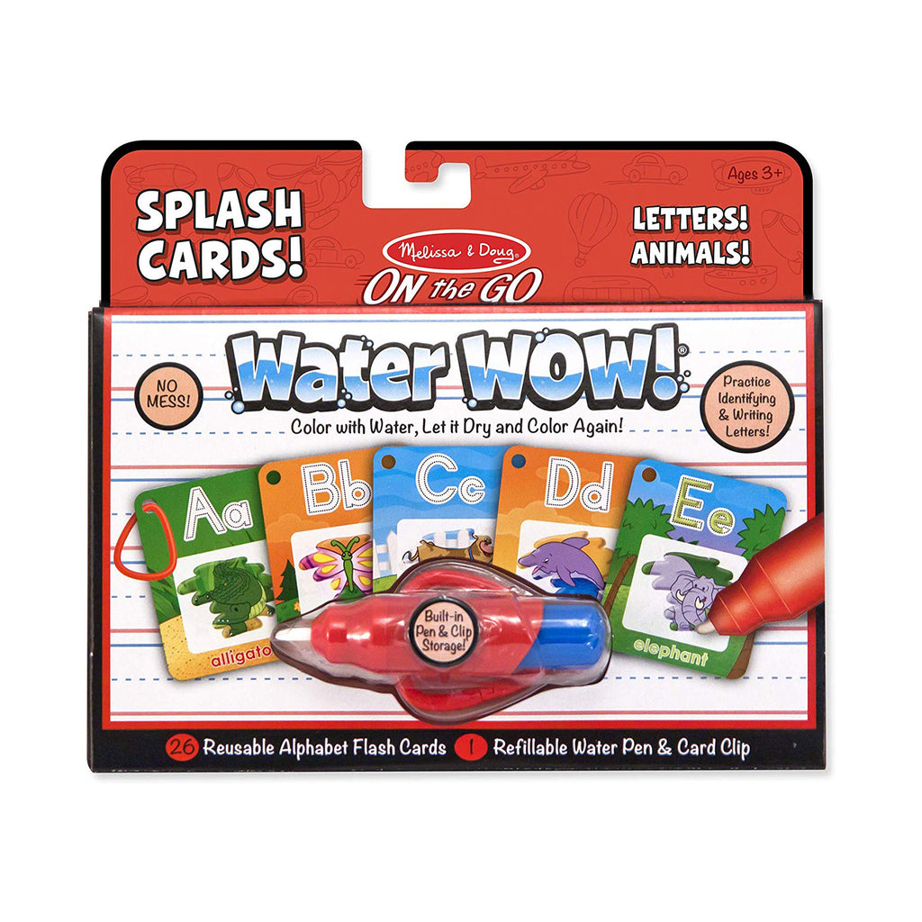 Melissa And Doug Water Wow Splash Cards Alphabet Set