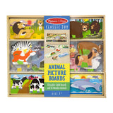 Traditional Toys - Melissa And Doug Animal Picture Boards