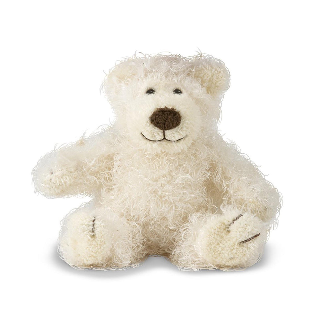 Animal Plush Toys - Melissa And Doug Baby Roscoe Bear Vanilla 6 Inch Plush Figure