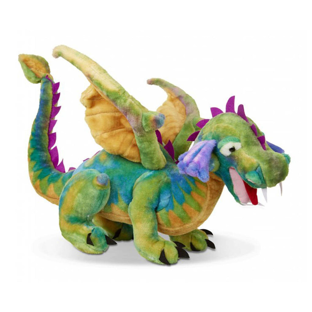 Melissa And Doug Colorful Large Dragon Plush Figure