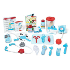 Melissa And Doug Get Well Doctor's Kit Play Set