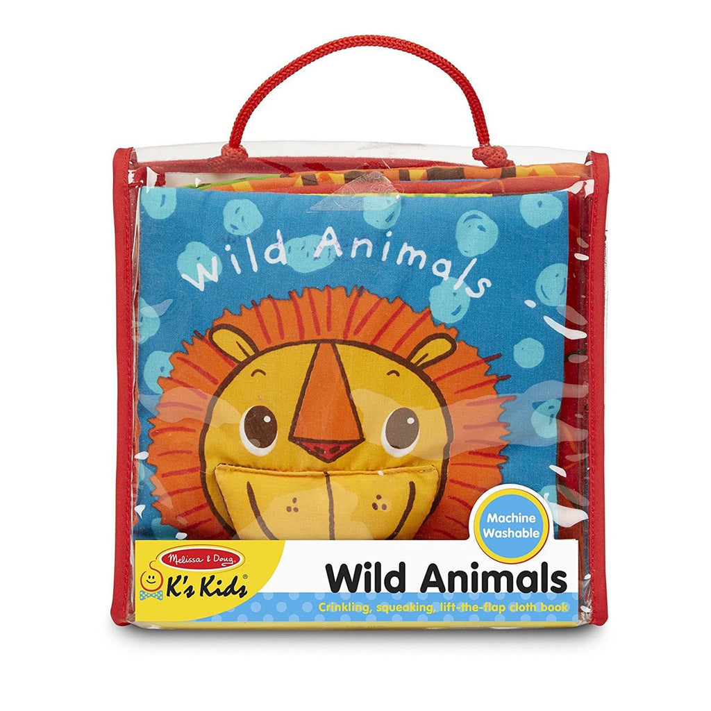 Melissa And Doug K's Kids Wild Animals Cloth Book