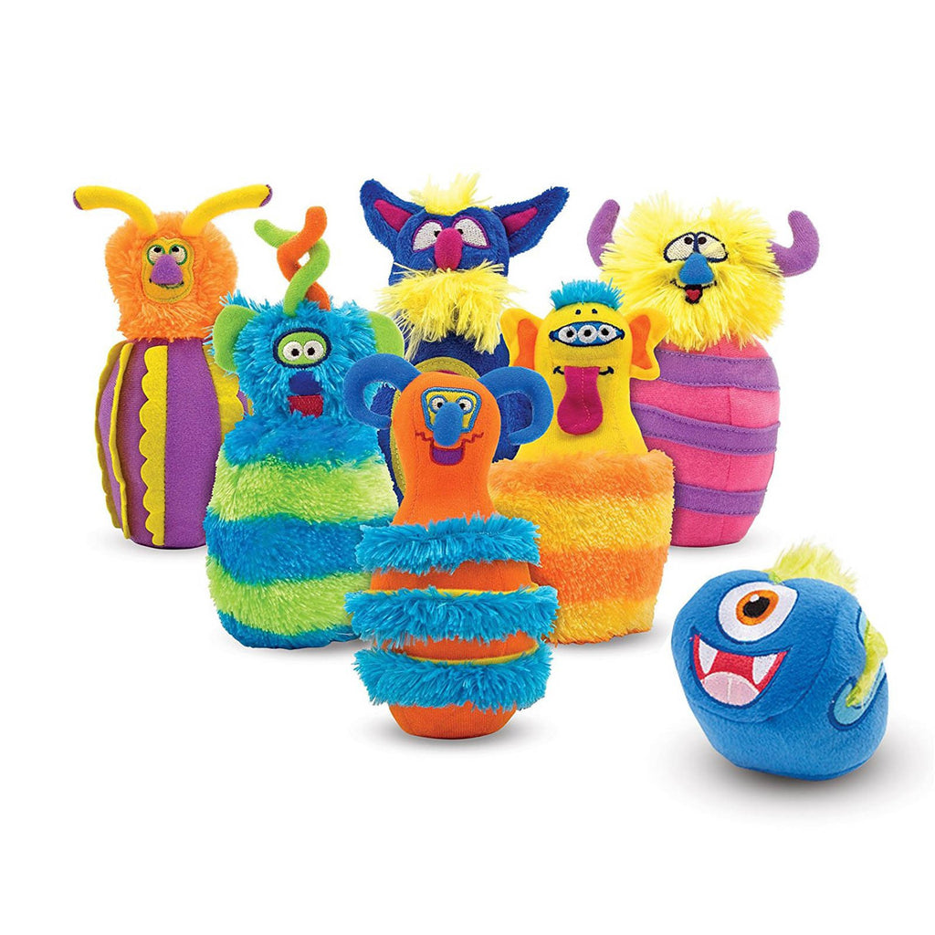 Melissa And Doug Monster Bowling Play Set