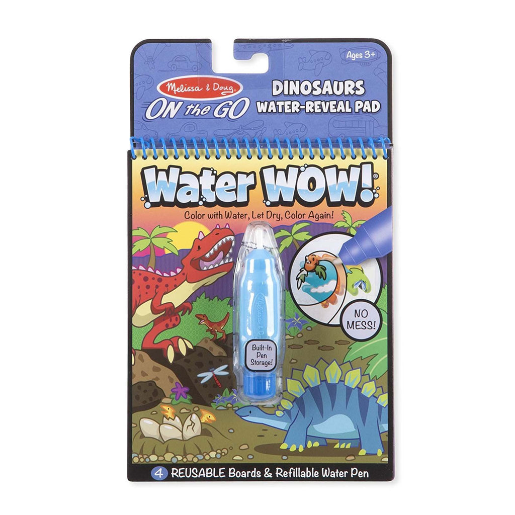 Melissa And Doug On The Go Water Wow Dinosaur Reveal Pad
