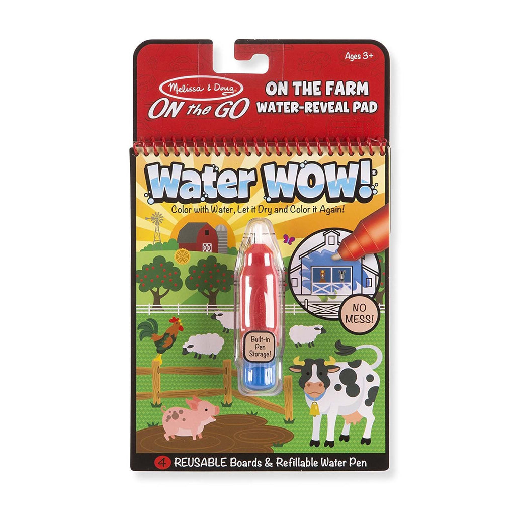 Melissa And Doug On The Go Water Wow Water Farm Reveal Pad