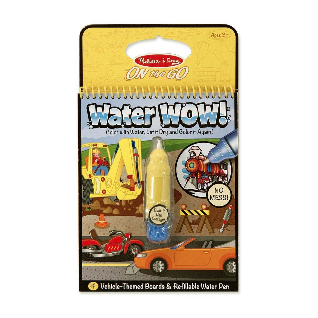 Melissa And Doug On The Go Water Wow Water Vehicles Reveal Pad