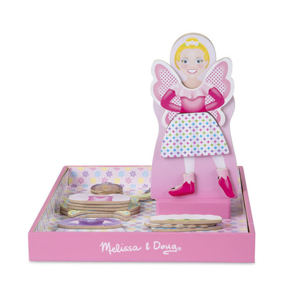 Melissa And Doug Tutus And Wings Magnetic Dress Up Doll Set