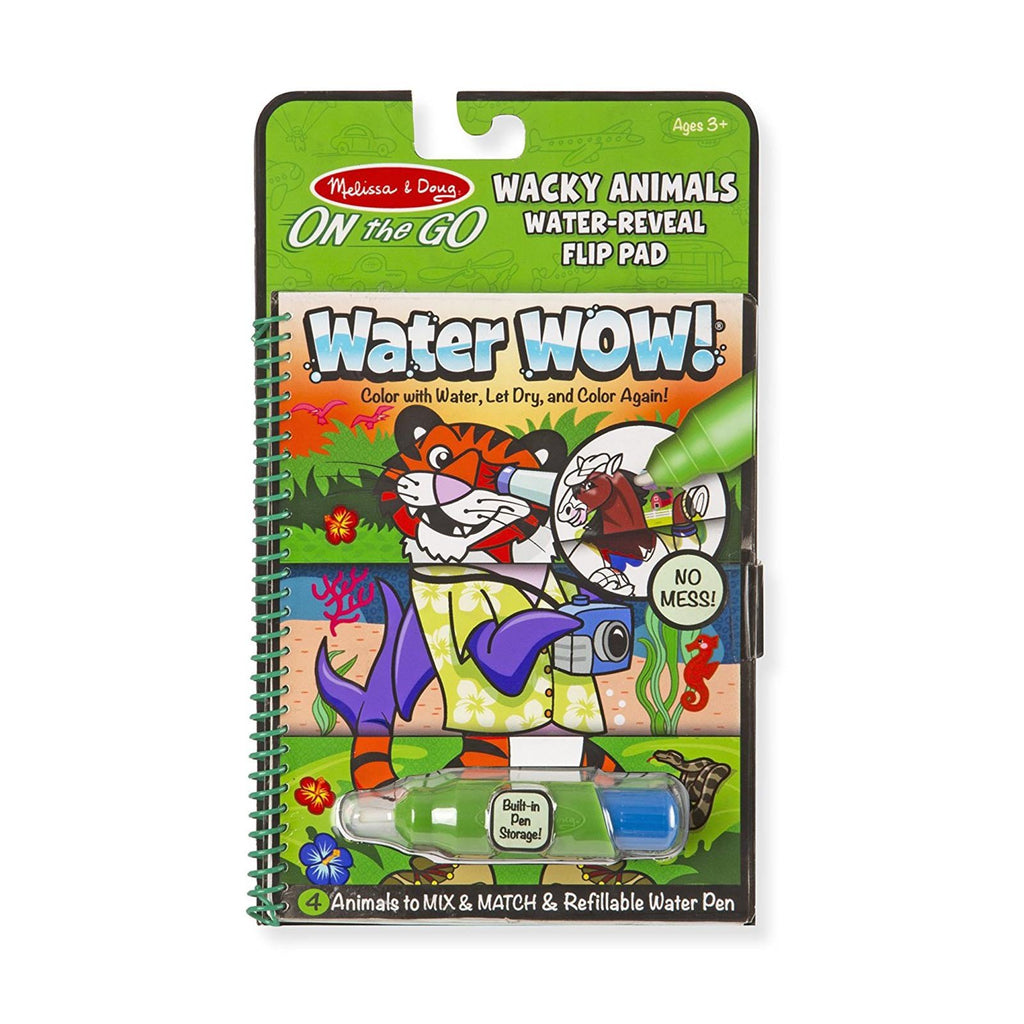Crafts - Melissa And Doug Water Wow Wacky Animals Set