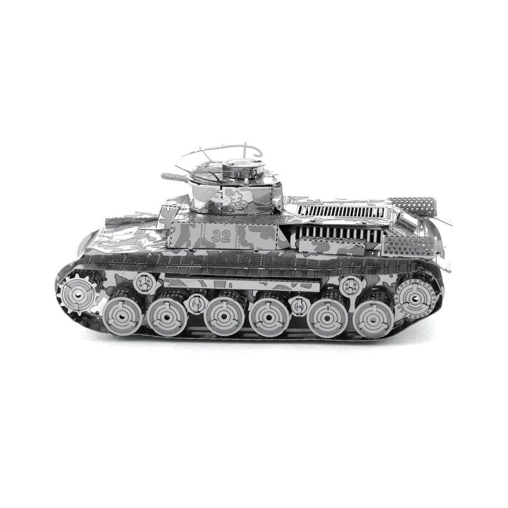 Metal Earth Chi Ha Tank Model Kit MMS202