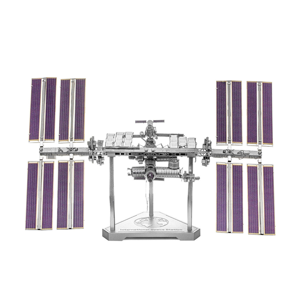 Metal Earth International Space Station Model Kit ICX140