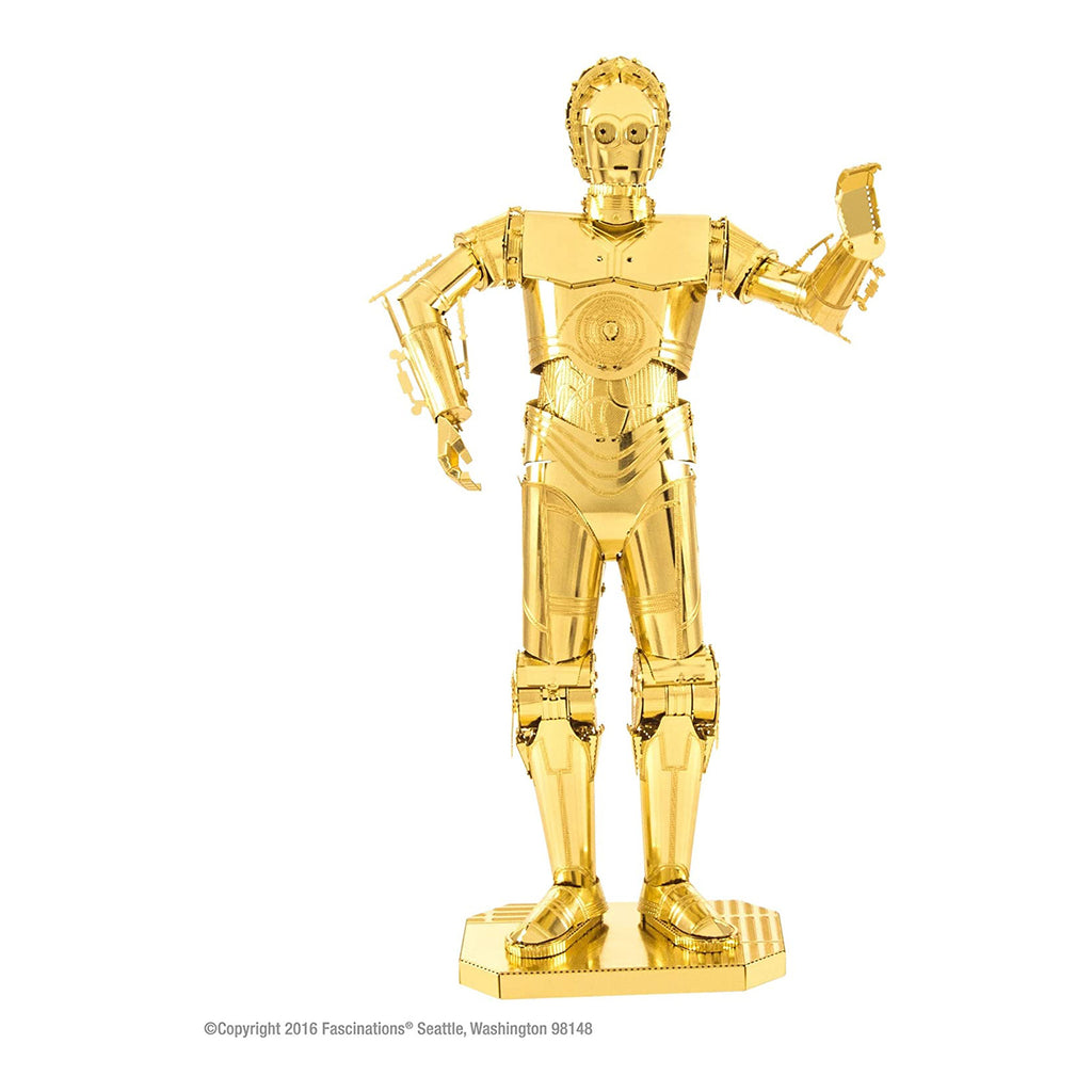 Metal Earth Star Wars C-3PO Model Kit
