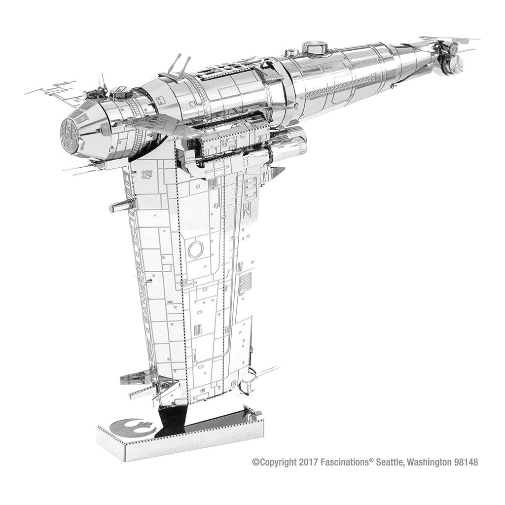 Metal Earth Star Wars Resistance Bomber Model Kit