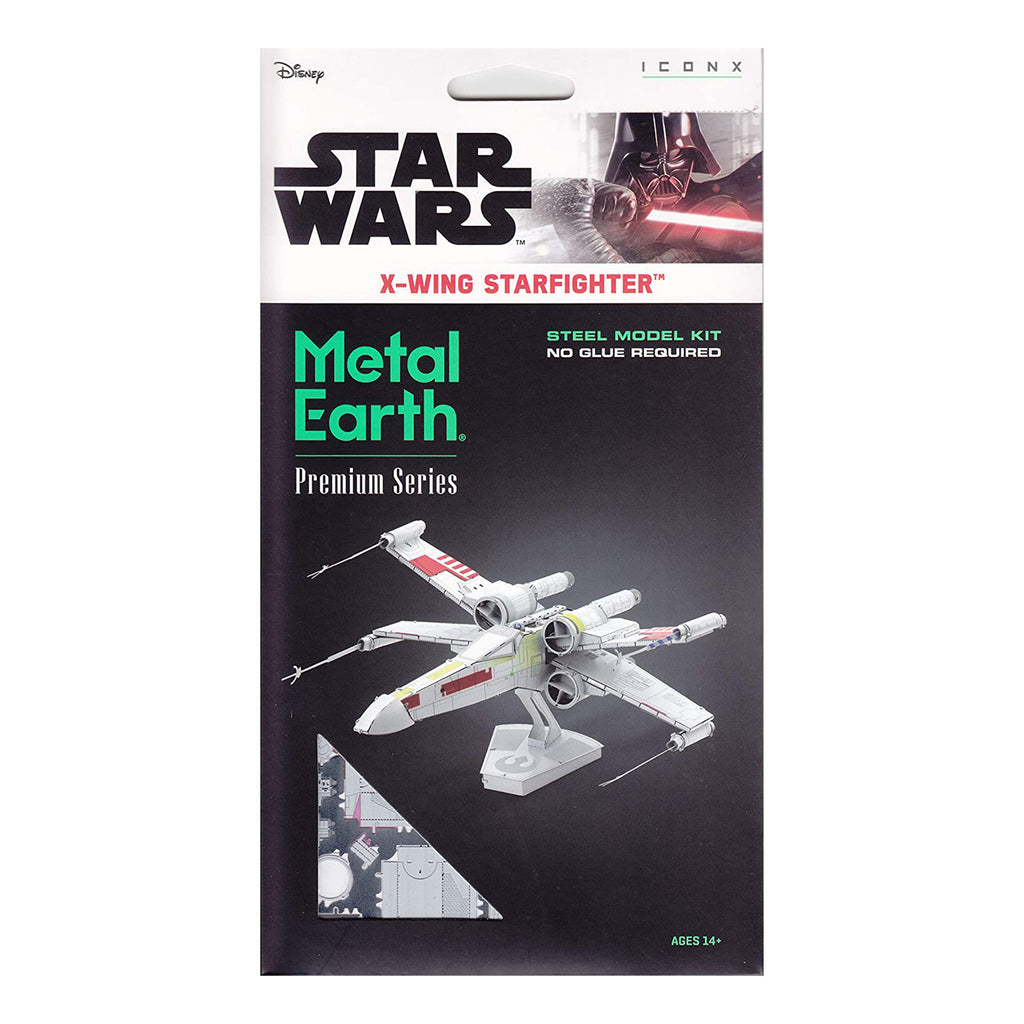 Metal Earth Star Wars X-Wing Starfighter Model Kit