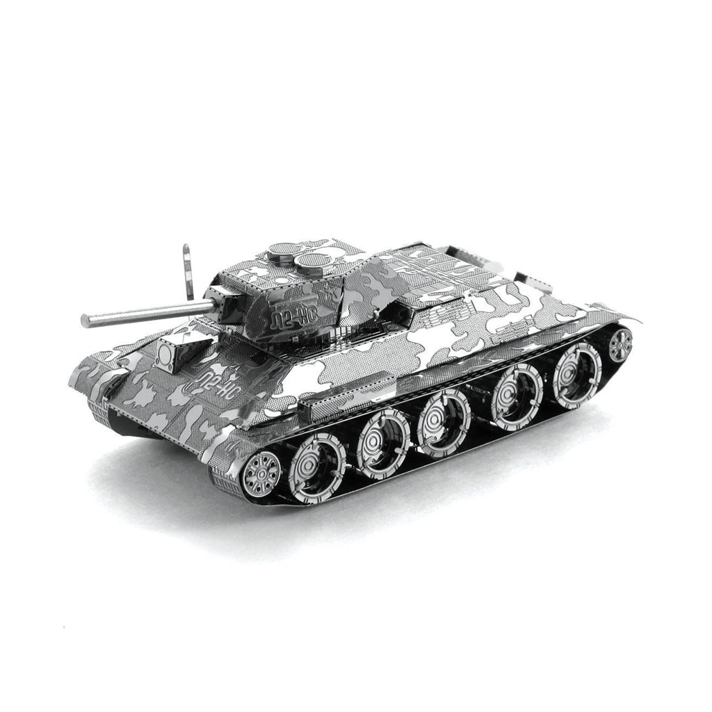Metal Earth T-34 Tank Model Kit MMS201