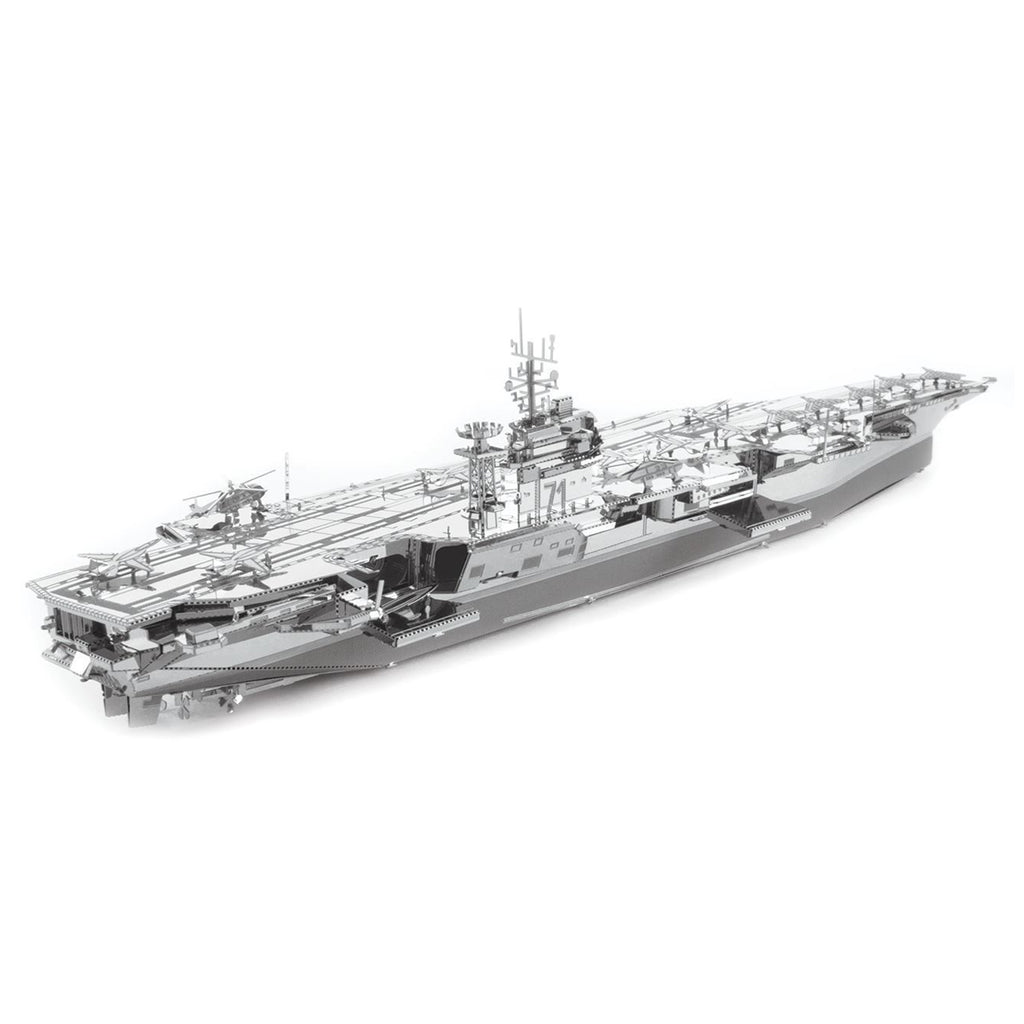 Metal Earth USS Theodore Roosevelt CVN-71  Model Kit ICX022