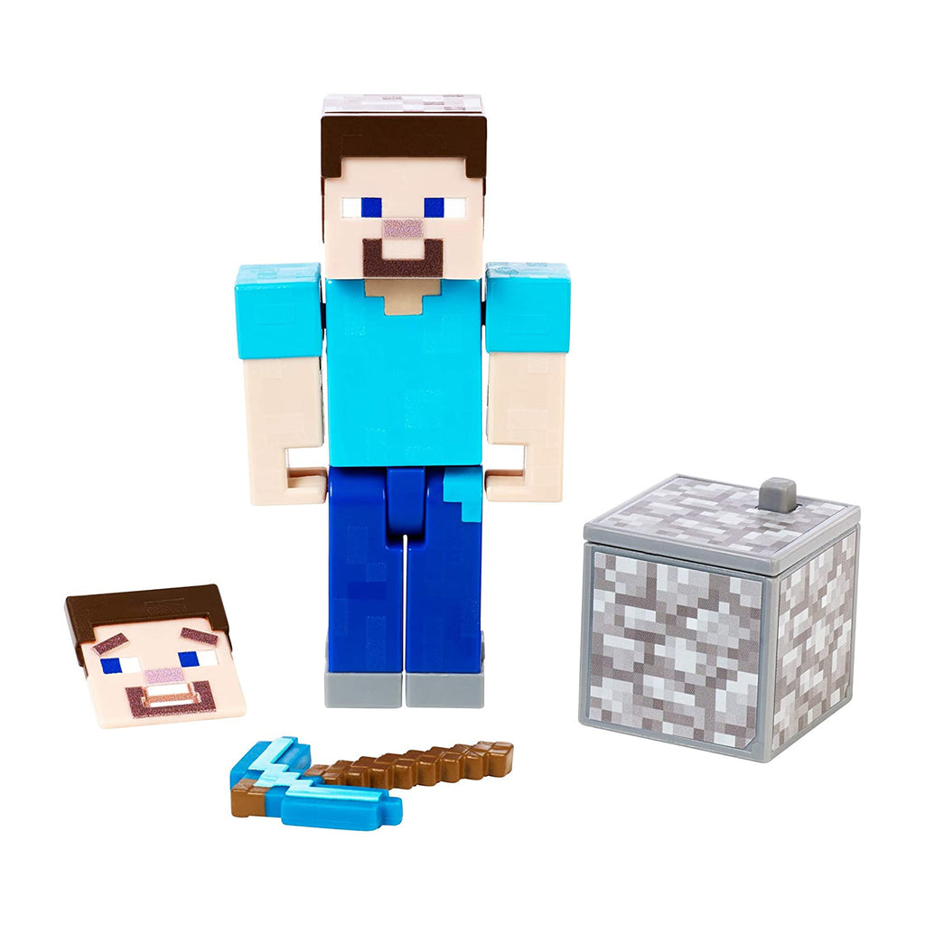 Minecraft Comic Maker Steve Action Figure
