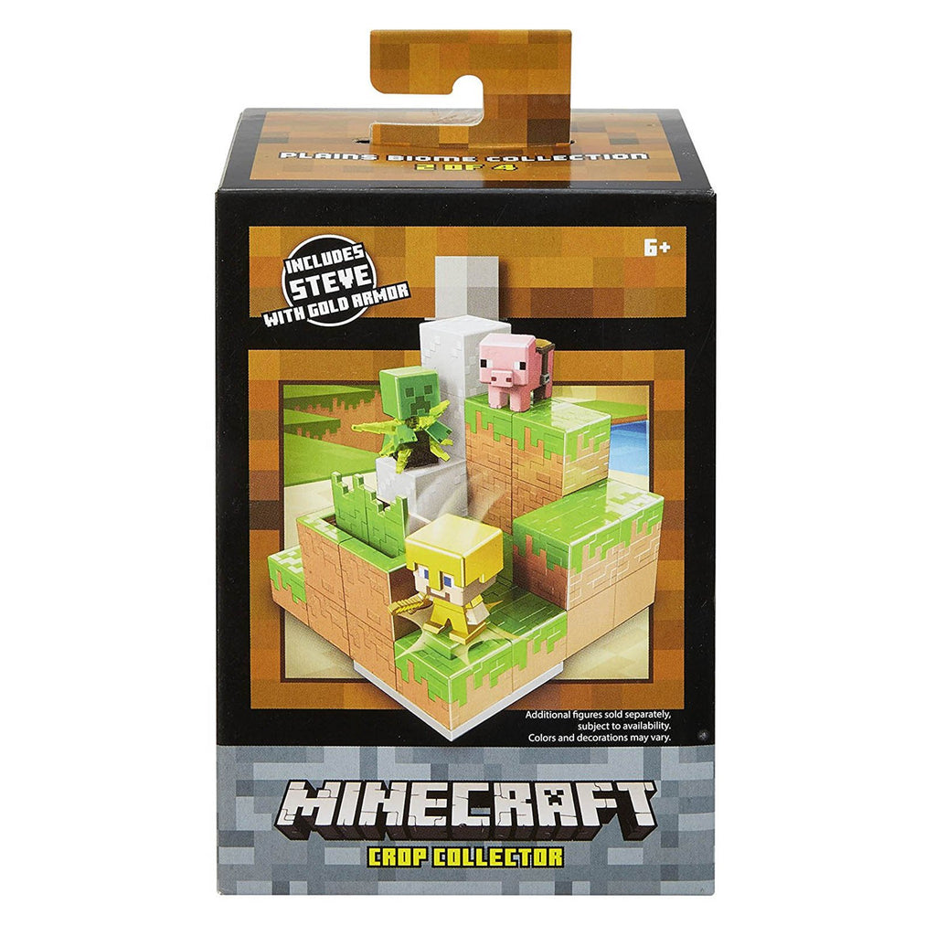 Minecraft Crop Collector Environment Mini Figure Set
