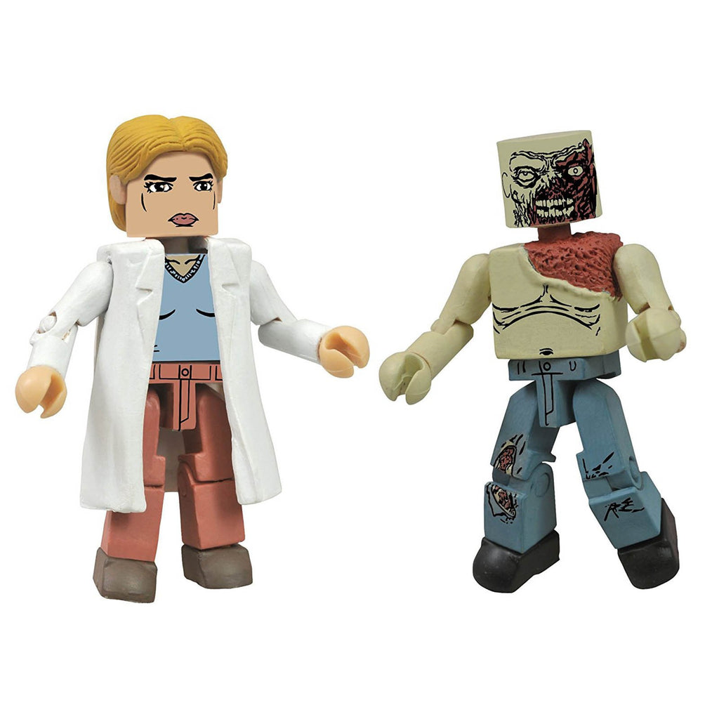 Minimates Walking Dead Series 4 Alice And Shoulder Zombie Figure Set