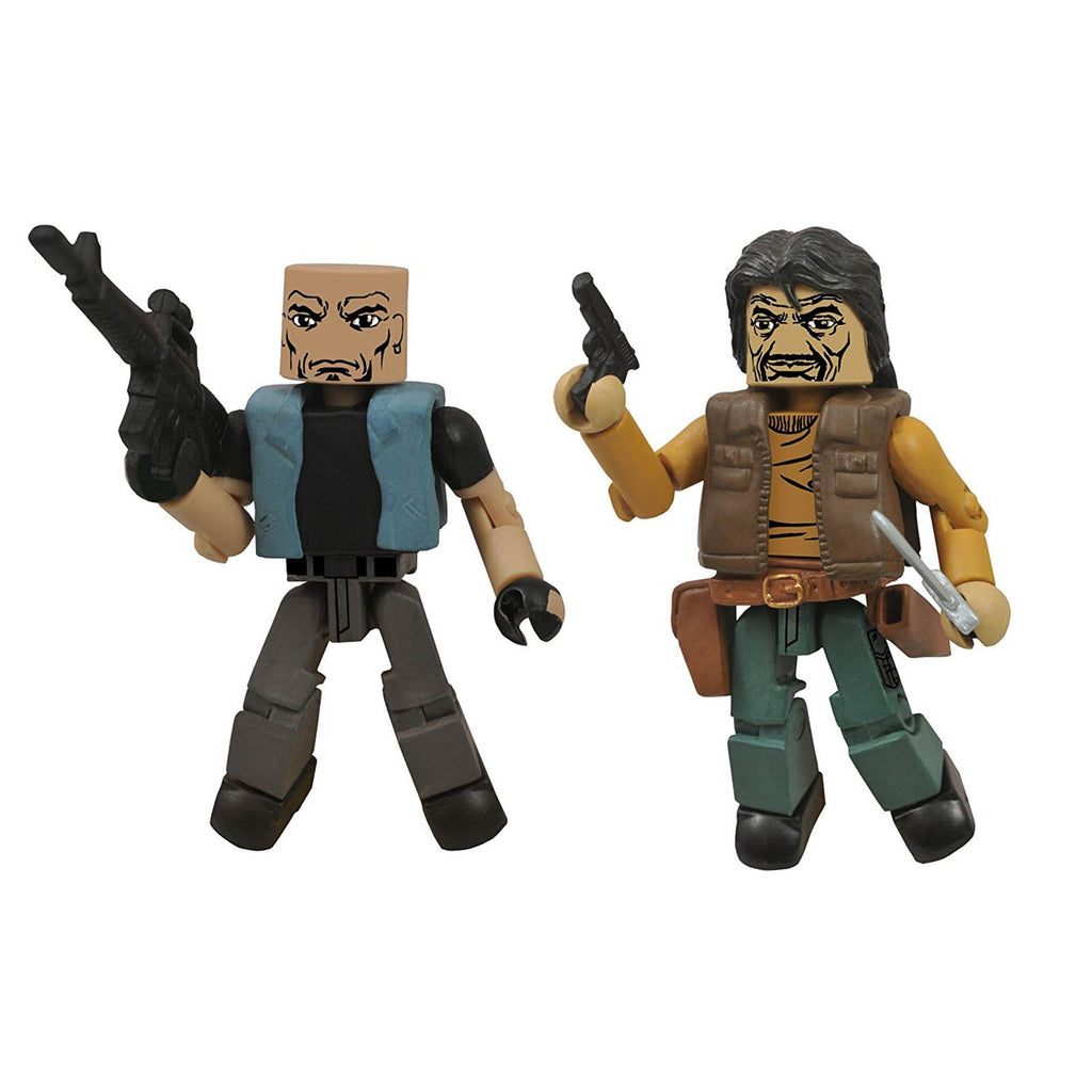 Minimates Walking Dead Series 4 Governor And Bruce Figure Set