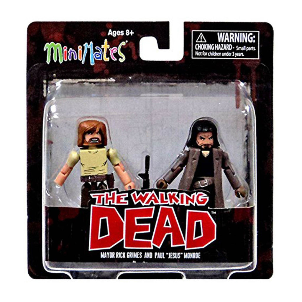 Minimates Walking Dead Series 7 Major Rick And Jesus Figure Set